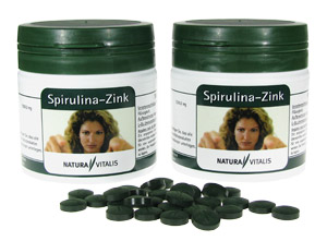 Spirulina + Zink von Natura Vitalis